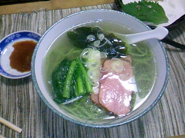 新作 小松菜ラーメン
