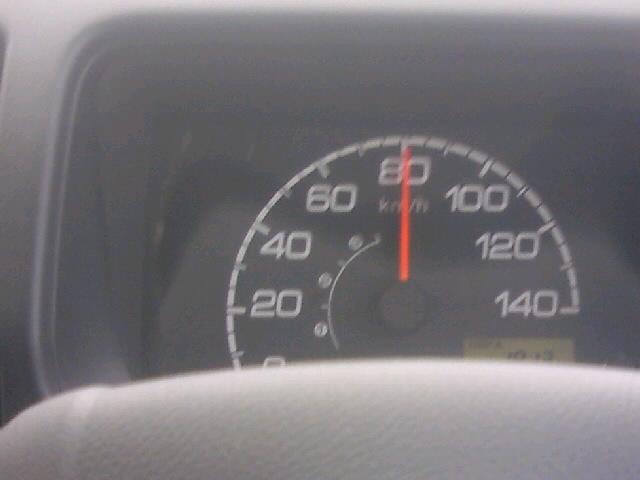 アクティ慣らし運転