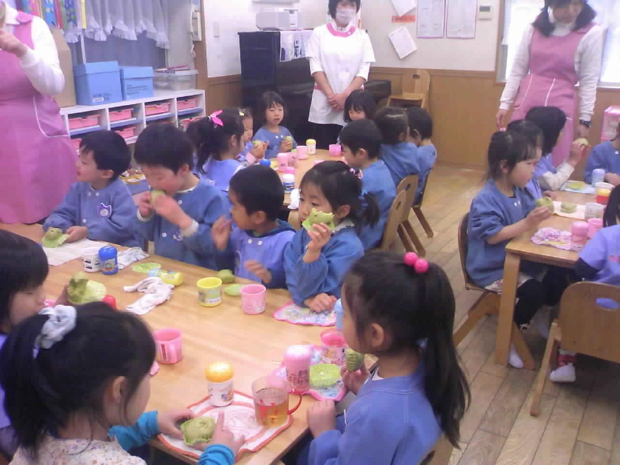 保育園で食育