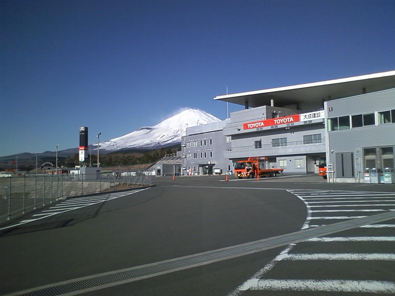 本日の富士スピードウエー